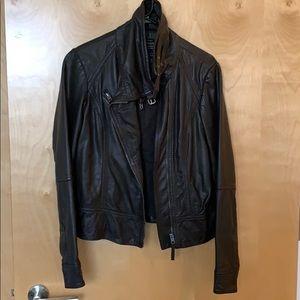 Leather Allsaints jacket